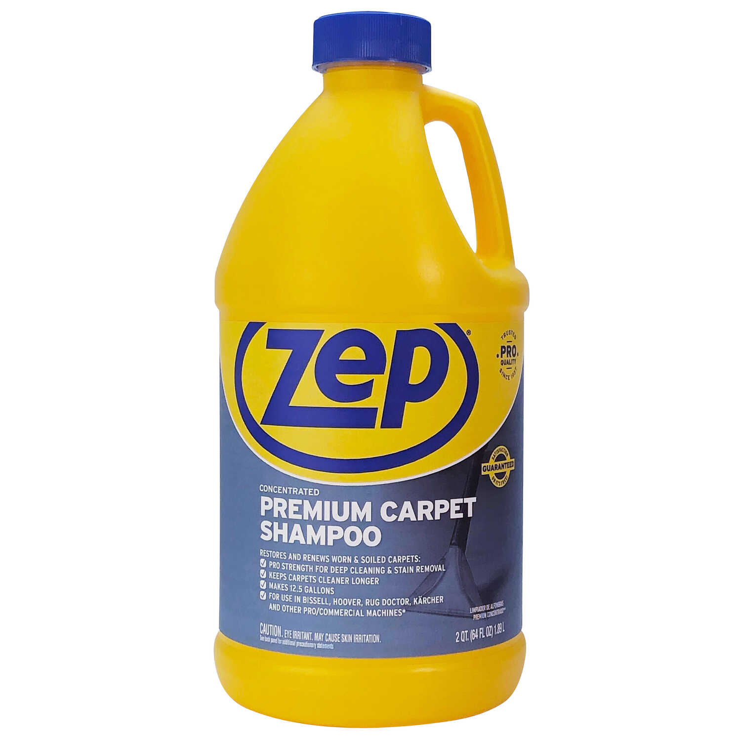 Zep  Commercial  Pleasant Scent Carpet Shampoo  64 oz. Liquid  Concentrated