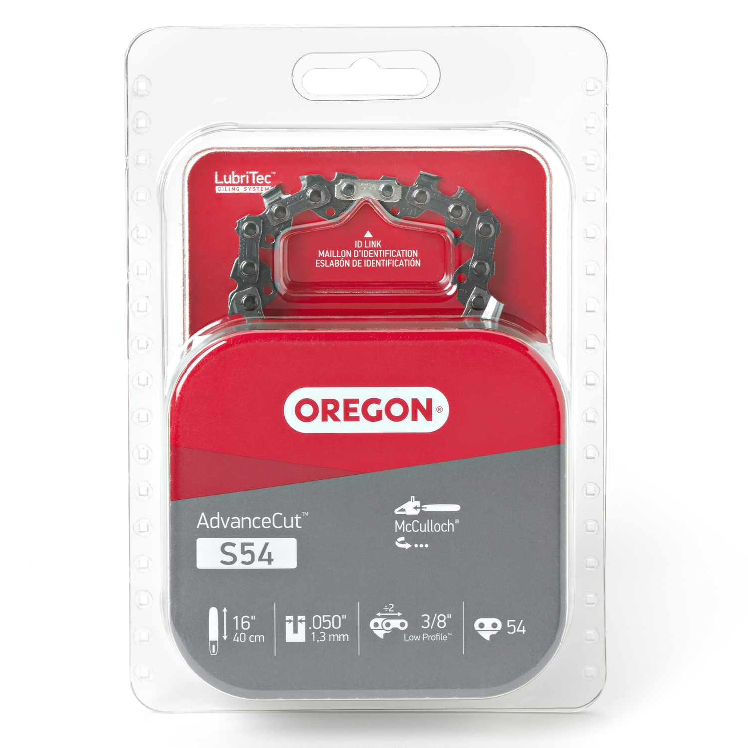 Oregon  16 in. L 54 links Chainsaw Chain