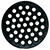 Sioux Chief  8-7/8 in. Black  Epoxy Coated  Cast Iron  Round  Floor Drain Strainer