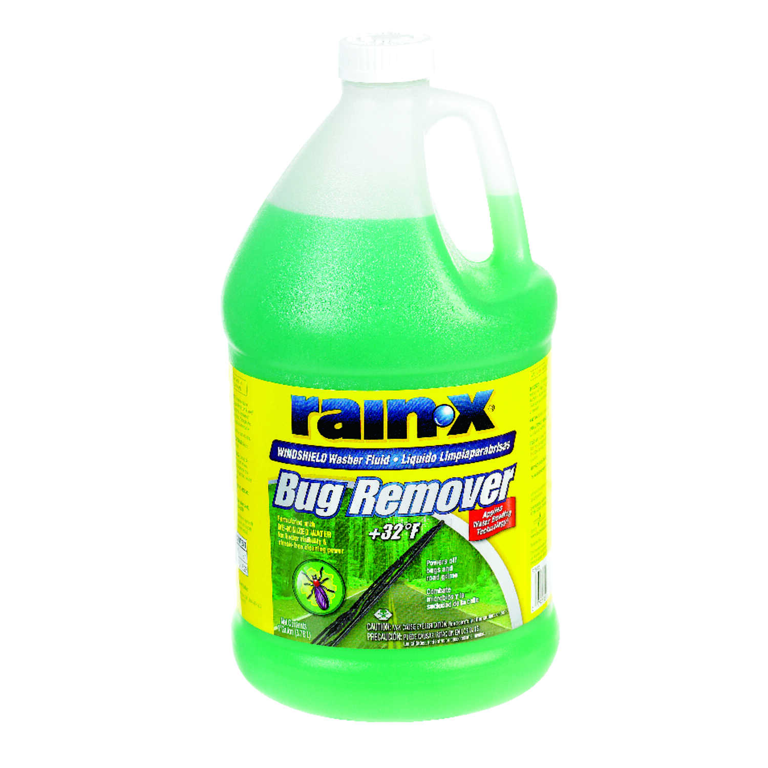 Rain-X  Bug Remover  Windshield Wash  Liquid  1 gal.