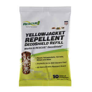 RESCUE  Insect Repellent Refill  For Hornets/Wasps/Yellowjackets 1 pk