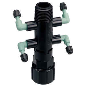 Orbit  4 ports Drip Irrigation Manifold