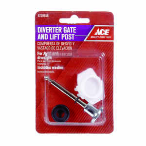 Ace  Chrome  Diverter Lift And Gate  3 pc.