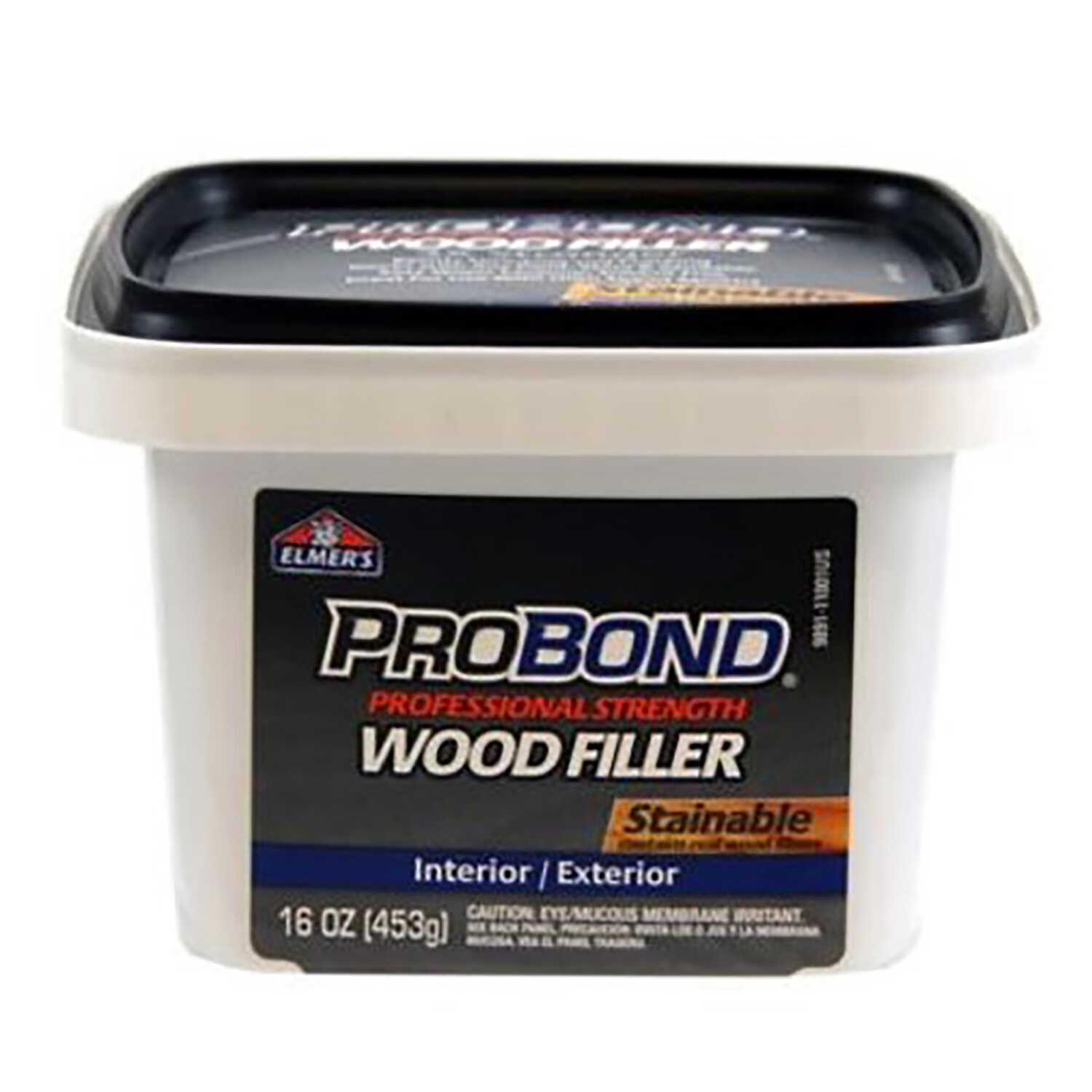 Elmer's  ProBond  Stainable Wood Filler  1 pt.