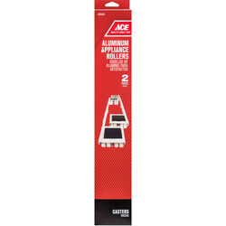 Ace 1-1/8 in. Dia. Appliance Roller 2000 lb. 2 pk