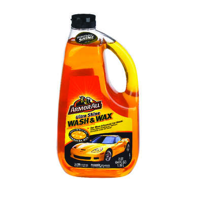 Armor All  Concentrated Liquid  Car Wash Detergent  64 oz.