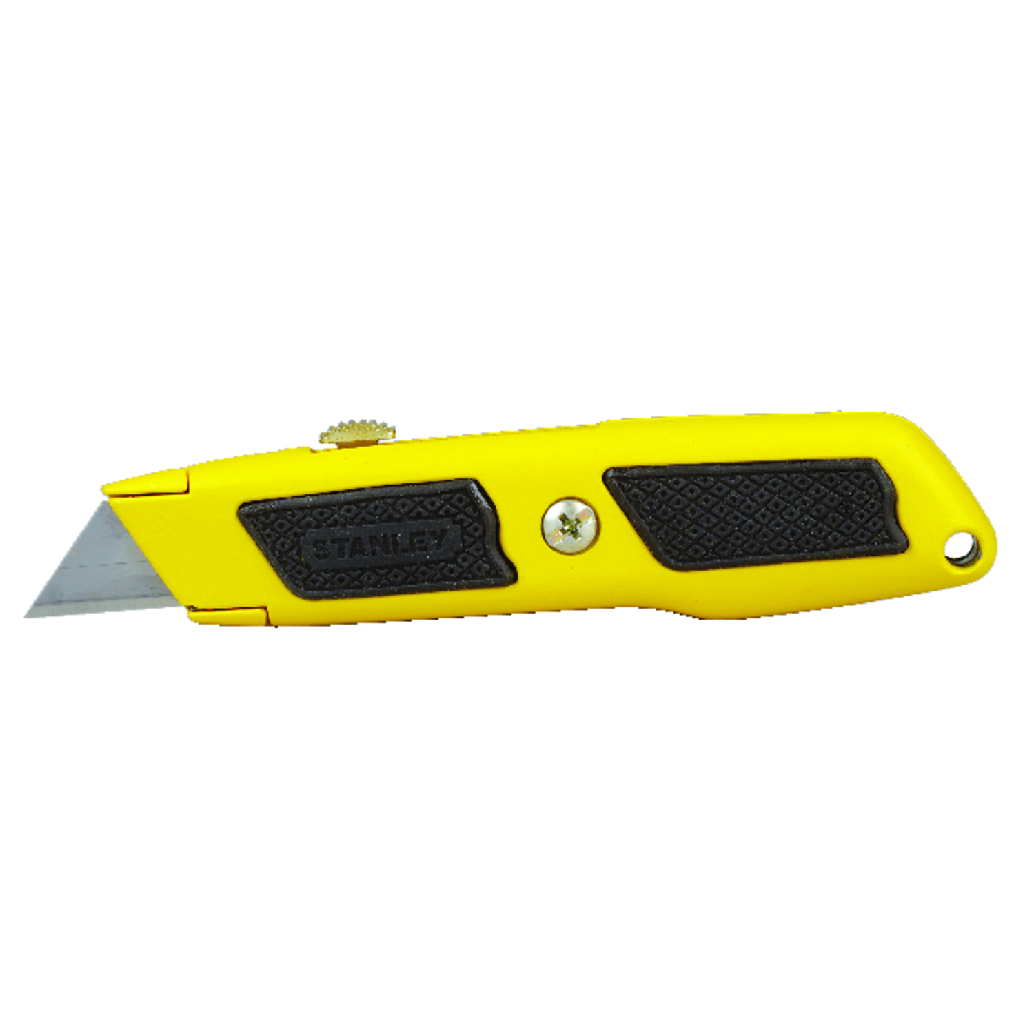 Stanley  Dynagrip  6 in. Retractable  Utility Knife  Yellow  1 pc.