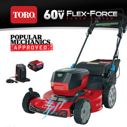 Toro Flex Force 21466 22 in. 60 volt Battery Self-Propelled Lawn Mower Kit (Battery & Charger)