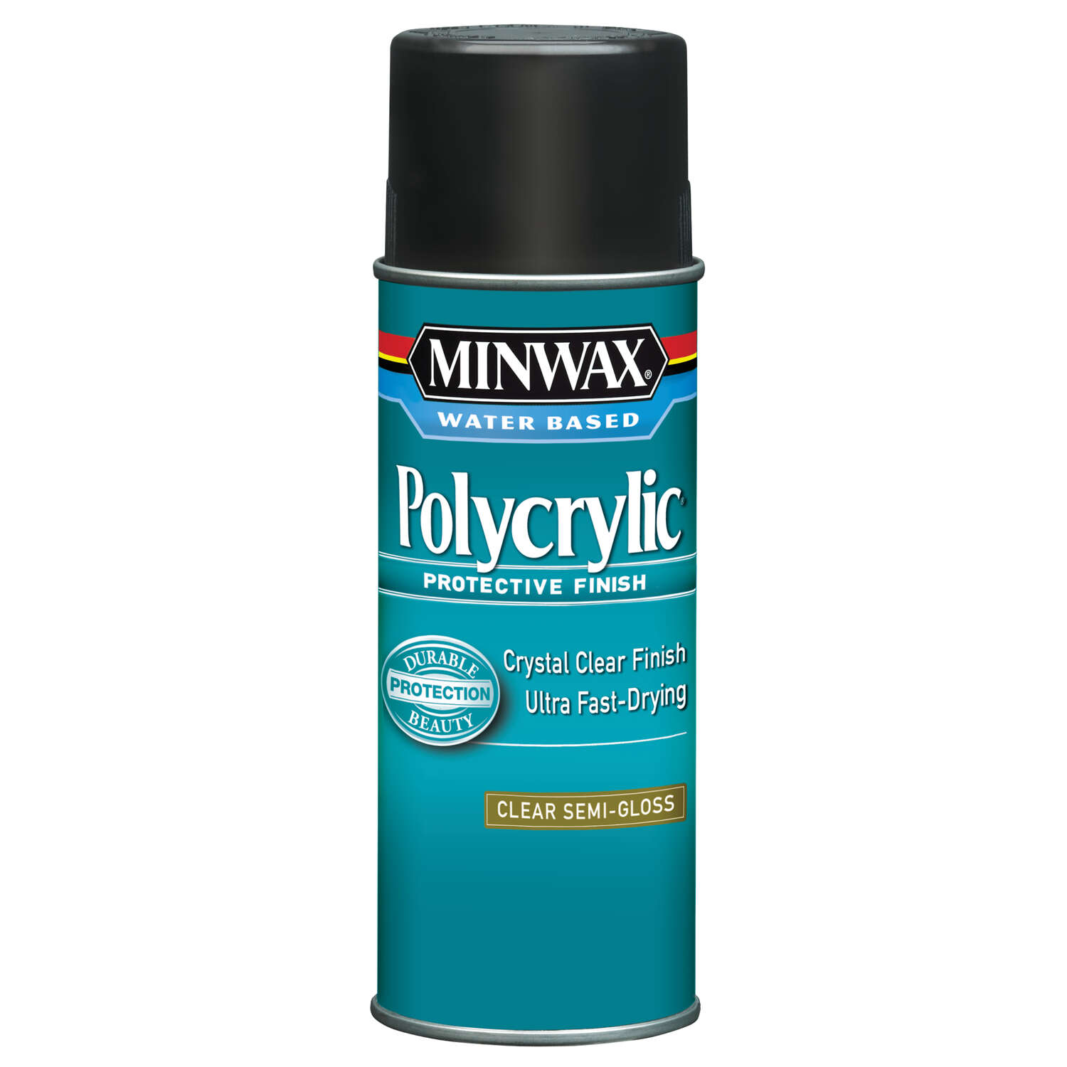Minwax  Semi-Gloss  Clear  Polycrylic  11.5 oz.