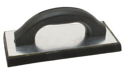 Marshalltown 4 in. W x 9 in. L Molded Rubber Float Smooth