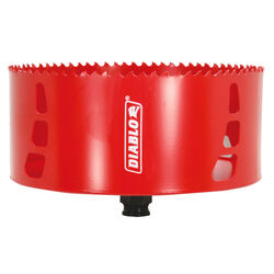 Diablo 6 in. Dia. x 2-3/8 in. L Bi-Metal Hole Saw 1 pc.