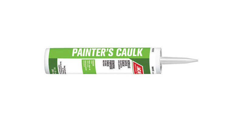 Ace  White  Acrylic Latex  Painter's  Painter's Caulk  10.1 oz.