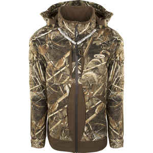 Drake  Guardian Flex Fleece Lined  L  Long Sleeve  Men's  Full-Zip  Jacket  Realtree Max-5