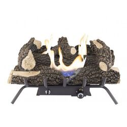 Pleasant Hearth Wildwood  Fireplace Log Set  33 lb.