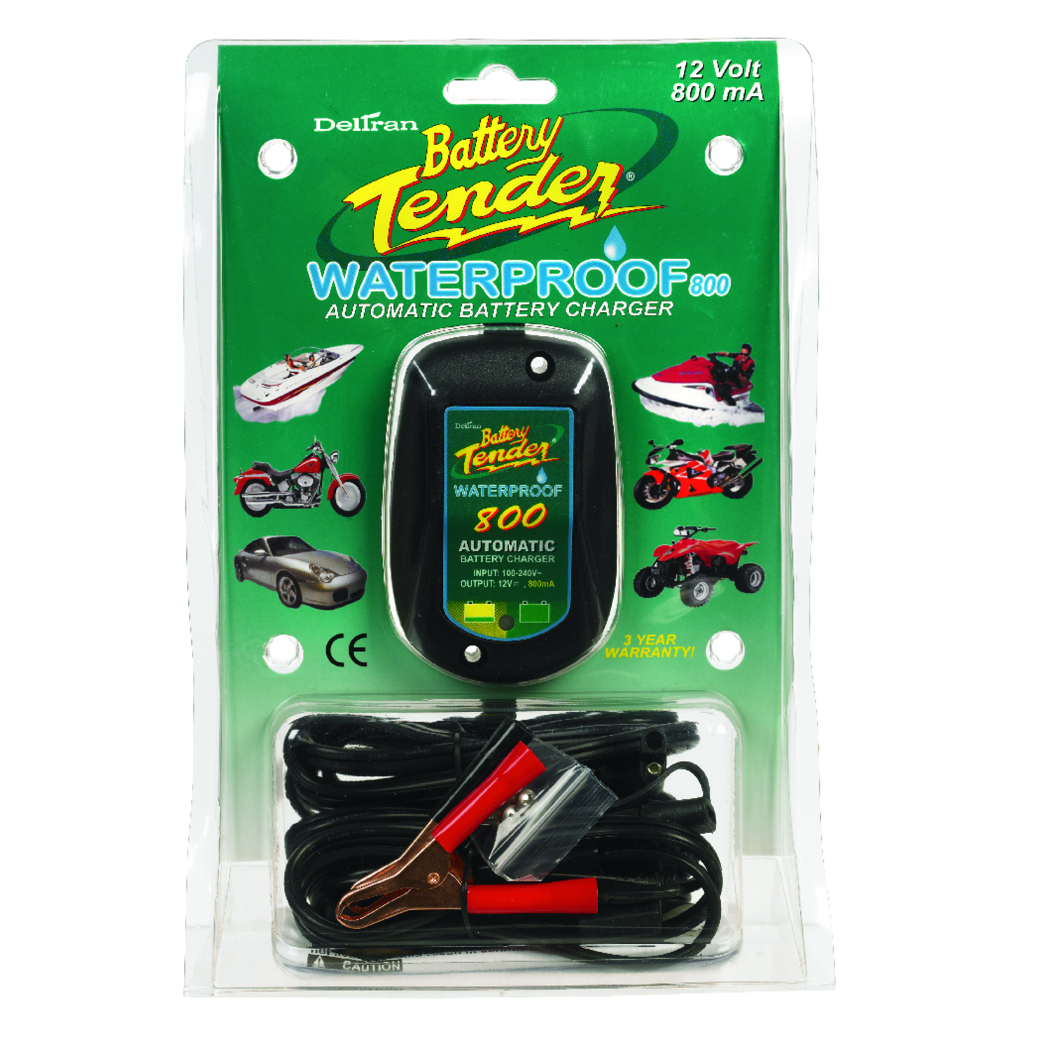 Battery Tender  Automatic  12 volts 800 mA Battery Charger