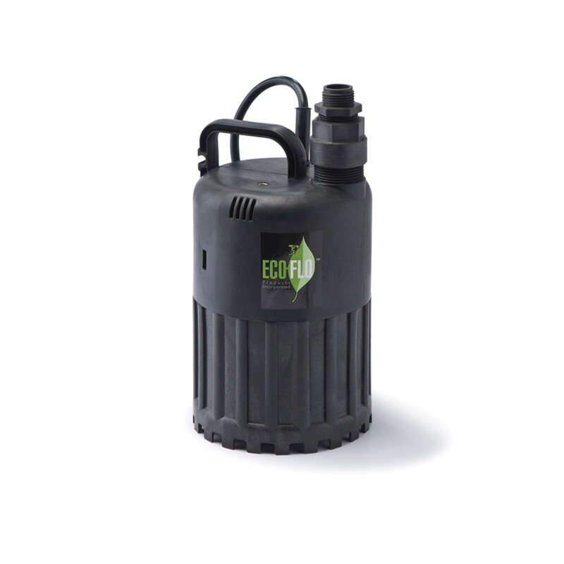 Eco-Flo 1/2 hp 3180 gph Thermoplastic Switchless Submersible Utility Pump