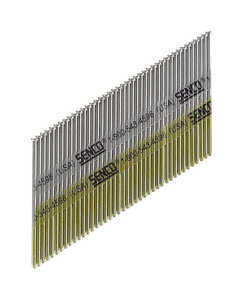 Senco  34  15 Ga. Smooth Shank  Angled Strip  Finish Nails  2 in. L x 0.07 in. Dia. 4,000 box
