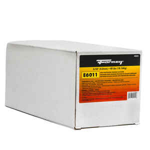 Forney  5/32 in. Dia. x 15 in. L E6011  Mild Steel  Welding Electrodes  88000 psi 40 lb.