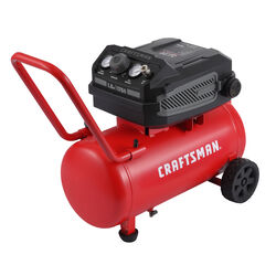 Craftsman  10 gal. Horizontal  Portable Air Compressor  175 psi 1.8 hp