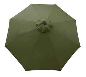 Sunline  9 ft. Taupe  Market Umbrella