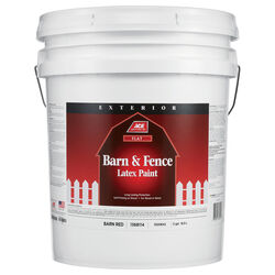 Ace Flat Barn Red Barn and Fence Paint Exterior 5 gal.