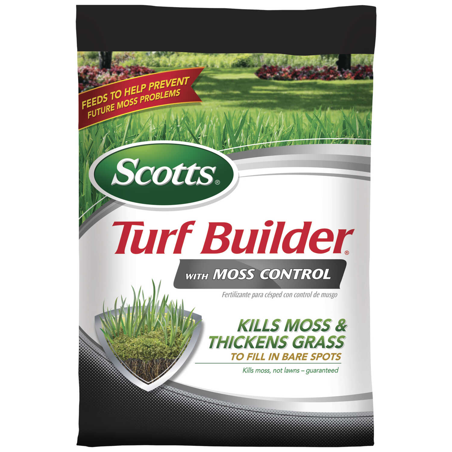 Scotts  Turf Builder  23-0-3  Lawn Fertilizer With Moss Control  For All Grass Types 26.31 lb. 5000
