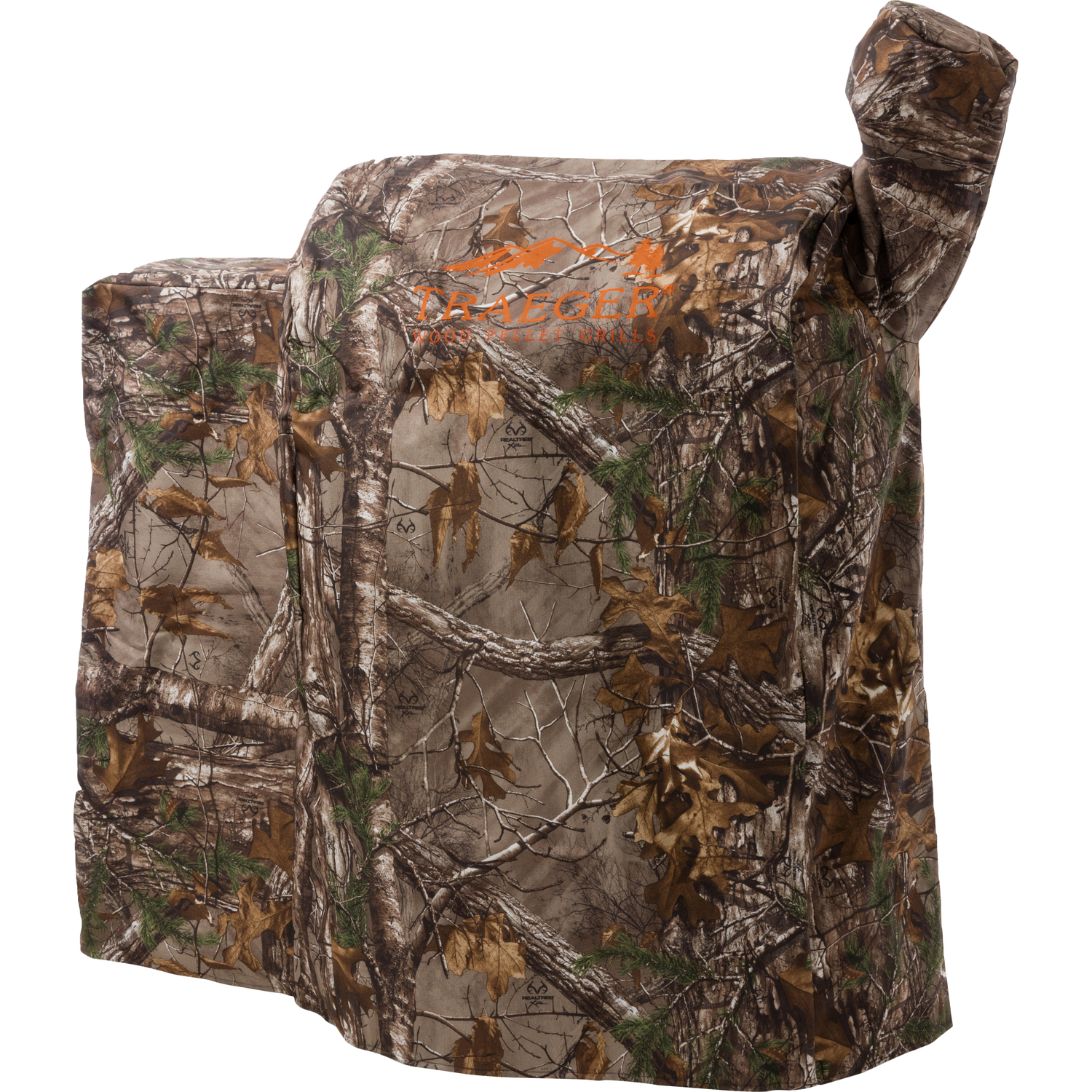 Traeger  Realtree  Brown  Grill Cover  22 in. W x 39 in. H x 35 in. D For 22 Series, Lil Tex, Renega
