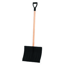 Garant 18 in. W x 51 in. L Poly Snow Shovel