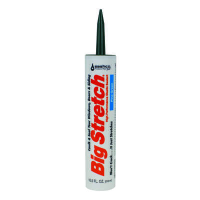 Big Stretch  Big Stretch  Pine Green  Acrylic  Caulk  10.5 oz.