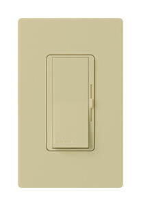 Lutron  Diva  Ivory  150 watts 3-Way  Dimmer Switch  1 pk