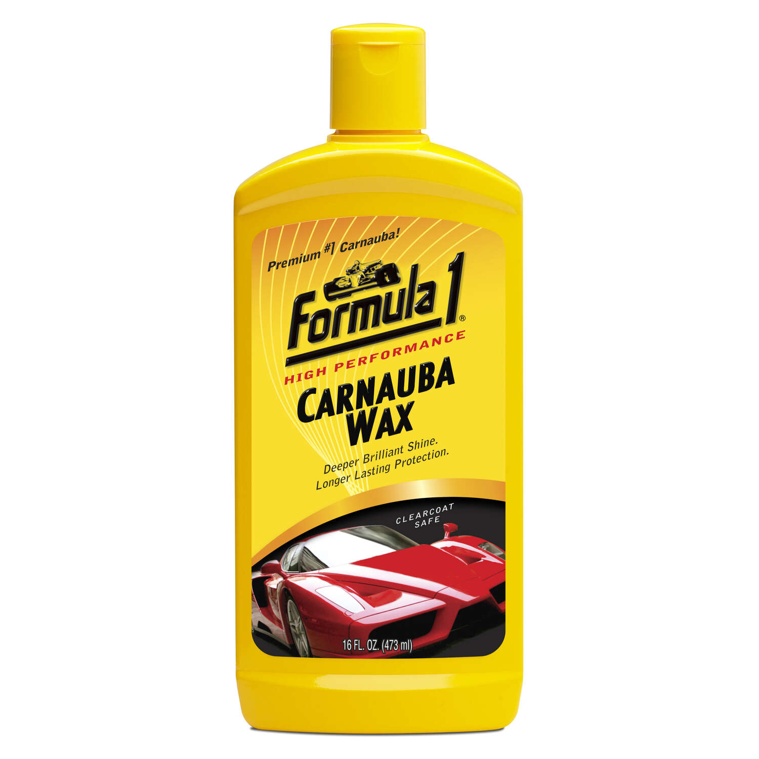 Formula 1  Liquid  Automobile Wax  16 oz. For Cleaning and Deep Shine