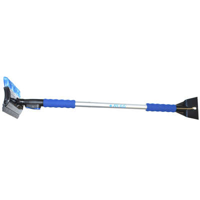 Rugg  49 in. Extendable Ice Scraper/Snowbrush
