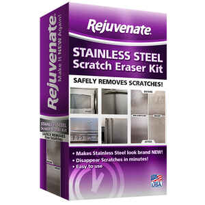 Rejuvenate  No Scent Stainless Steel Scratch Eraser Kit  Liquid
