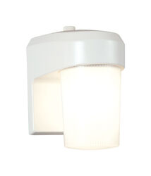 All-Pro  Dusk to Dawn  Hardwired  Fluorescent  White  Entry Light