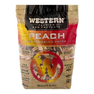 Western  Peach  Wood Smoking Chips  180 cu. in.