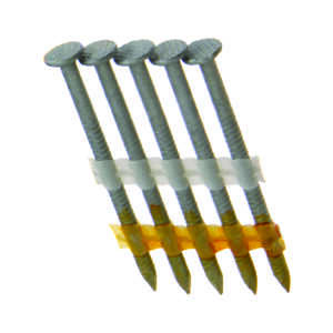 Grip-Rite  21 deg. 11-1/2 Ga. Ring Shank  Angled Strip  Framing Nails  2-3/8 in. L x 0.11 in. Dia. 1