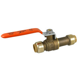 SharkBite  1/2 in. Brass  Push-to-Connect  Ball Valve