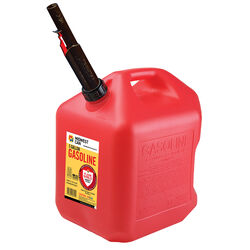 Midwest Can Flame Shield Safety System Plastic Gas Can 5 gal.