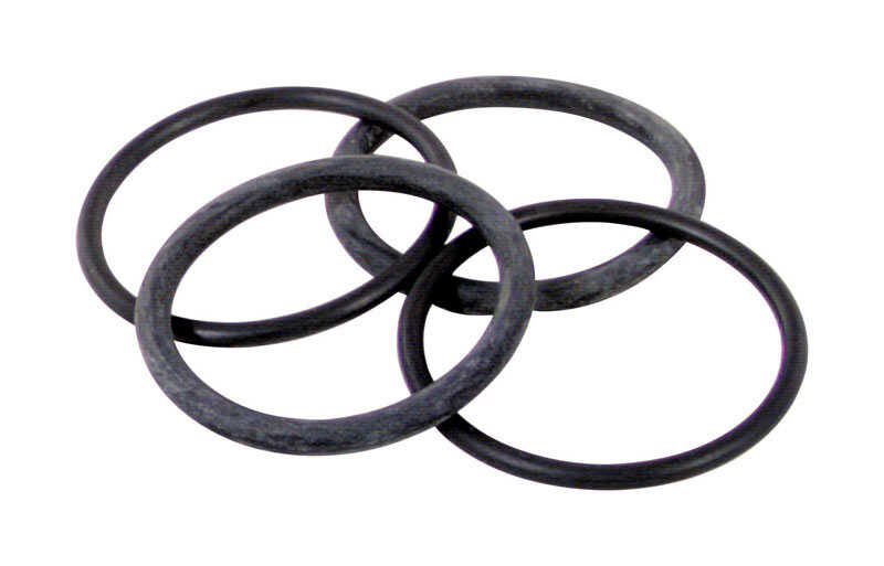 BrassCraft  Assorted in. Dia. PTFE Coated Rubber  O-Ring Kit  4 pk