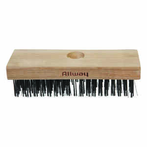 Allway  2-1/2 in. W x 7 in. L Carbon Steel  Wire Brush