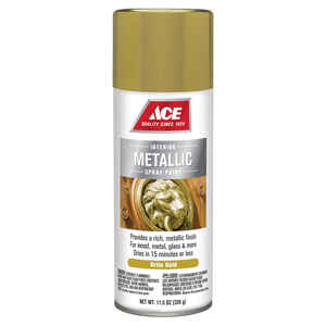 Ace  Brilliant  Bright Gold  Spray Paint  11.5 oz.