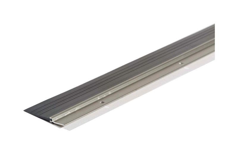 """Aluminum Finned Door Sweep 144/"""""""