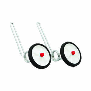 Bell Sports  Steel  Training Wheels  White/Silver