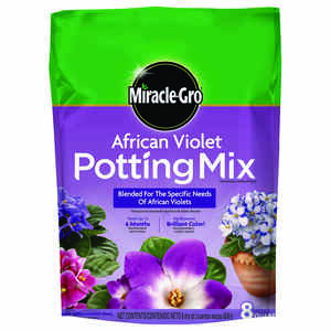 Miracle-Gro  African Violet Mix  8 qt.