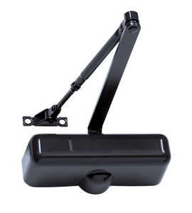 Tell  Brown  Rugged Die-Cast  Hydraulic  Door Closer  Grade 3
