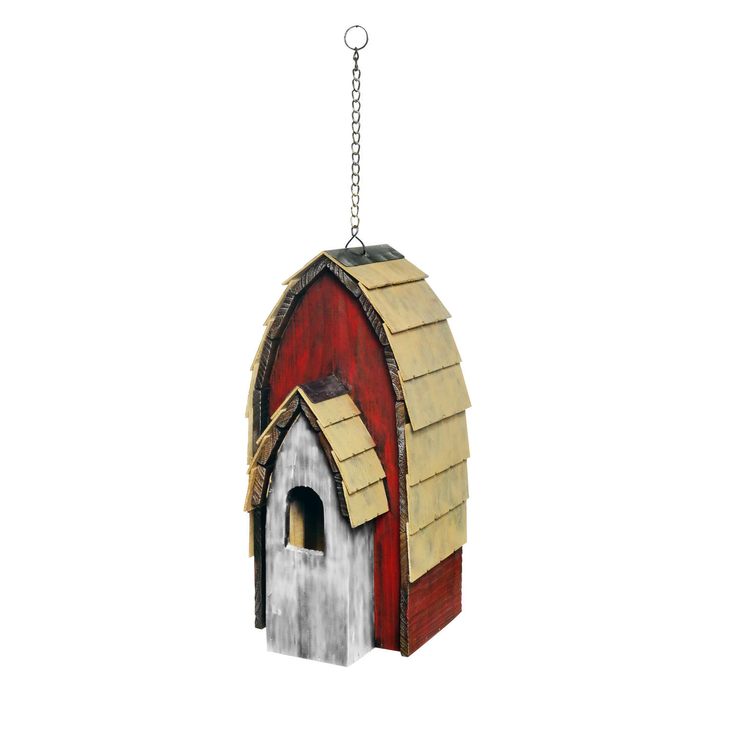 Alpine  16 in. H x 8 in. W x 8 in. L Wood  Bird House