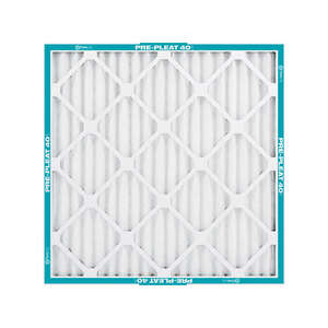 Flanders-Percisionaire  Pre-Pleated 40  24 in. H x 2 in. D x 24 in. W Air Filter  Synthetic