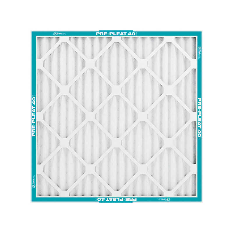 AAF Flanders  Pre-Pleated 40  24 in. H x 24 in. W x 2 in. D Synthetic  Air Filter