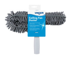 Unger Microfiber Ceiling Fan Duster 3 in. W x 10 in. L 1 pk(962660)