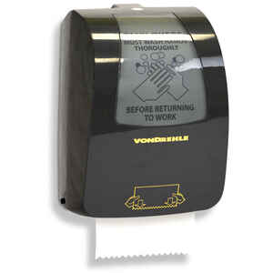 Harbor  Plastic  Wall Mount  Electric Paper Towel Dispenser  16 in. H x 10.2 in. W x 12.1 in. L